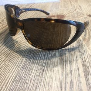 Prada Sunglasses SPR 051 7bg-8c1 Brown Sunglasses
